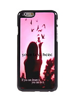 Personalized Gift Dream It and Do It Design Aluminum Hard Case for iPhone 6