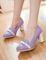 Women's Shoes Stiletto Heel Heels Pumps/Heels Office & Career/Dress Black/Purple/Beige