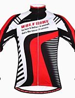 Tops/Chaqueta/Sudadera/Paravientos/Chaquetas de Lana ( Rojo ) - de Deportes recreativos/Ciclismo/Downhill/Running -Resistente al