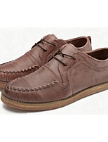 Men's Shoes Casual Suede Oxfords Black/Brown/Beige