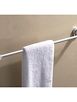 Fashion Silver Bathroom Single Towel Hanger