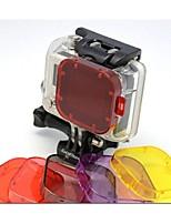 gopro hero3 pu vetro di protezione