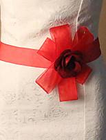 Damen Schärpen Schärpe Satin / Tüll Hochzeit/Party / Abend Floral