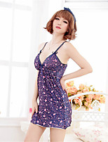 Women's Cotton Blend Lingerie/Ultra Sexy/Suits Nightwear/Lingerie