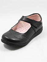 Girls' Shoes Wedding Round Toe  Oxfords Black