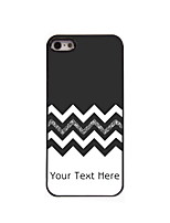 Personalized Gift The Black and White Design Aluminum Hard Case for iPhone 5/5S