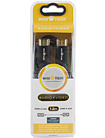 WISETIER WT-HM5013 HDMI 1.4 HD Digital A/V Cable Black Perfect for XboxOne IPTV TV BOX