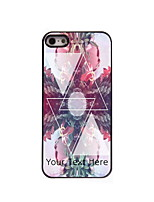 Personalized Gift Triangle Design Aluminum Hard Case for iPhone 4/4S