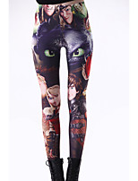 Women Print Legging , Spandex Medium