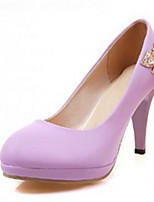 Chaussures Femme Synthétique Kitten Heel Talons/Escarpin Basique/Bout Pointu Escarpins / Talons Bureau & Travail/Habillé/Décontracté