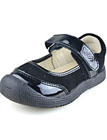 Baby girls Shoes Outdoor/Casual Suede Mary Jane Flats Black