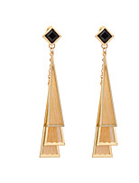 Women's Fashion Personality Exaggerated Triangle Stud Earrings HJ0046