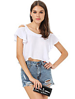 Women's Sexy Beach Casual Short Sleeve Slimming T-shirt
