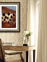 E-HOME® Framed Canvas Art, Restoring Ancient Ways Framed Canvas Print