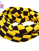Waboats Winter Boys Girls Plaid Yarn Neckerchief Baby Warm Scarf