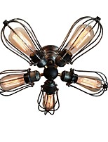 WESTMENLIGHTS 5 Lights Squirrel Cage Ceiling Light