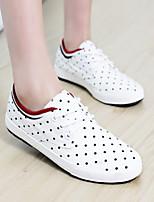 Scarpe Donna - Ballerine / Sneakers alla moda - Casual - Comoda / Ballerina / Punta arrotondata - Piatto - Di corda -Nero / Blu / Rosso /