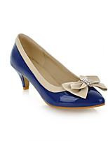 Scarpe Donna Sintetico Quadrato Tacchi/Decolleté Scarpe col tacco Ufficio e lavoro/Formale/Casual Blu/Rosa/Blu scuro