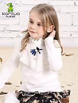 Camiseta/Jersey y Cardigan Chica de - Invierno/Primavera/Otoño - Algodón - Manga Larga