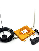 Full set GSM 900Mhz DCS 1800MHz Dual Band Signal Booster , Mini 2G Mobile Phone Signal Repeater With Antenna