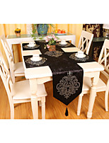 European Style High Quality Luxurious Velvet  Table Runner (13