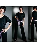 projeto das mulheres de alta qualidade ternos de tecido respirável yoga / ultravioleta resistente / secagem rápida / anatômico /