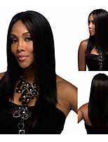 Modern Afro Synthetic wigs Long Straight Black hair African American wigs for women