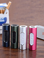 Yuehuo F2 Portable & Creative USB Electronic Cigarette Lighter - Assorted Colors
