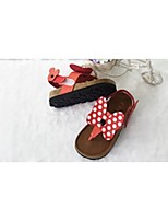 Girls' Shoes Casual Round Toe/Open Toe Sandals Red