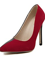 Women's Shoes Stiletto Heel Heels/Pointed Toe/Closed Toe Pumps/Heels Casual Red/White