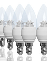 2 pcs 2015 new design 3W led clear candle bulb with  E26/E27/E14/B15 Warm White/Cool White/Natural White A Dimmable