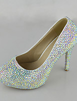 Women's Shoes Symphony Crystals Pumps/Heels Wedding/Party & Evening/Dress Multi-color