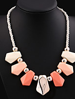 NEW Style Women's Eye-Catching Water Drop Hand Knitting Acrylic Necklace Wedding/Party  1PCS