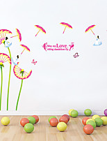 Wall Stickers Wall Decals, Dandelion Parasol Stickers