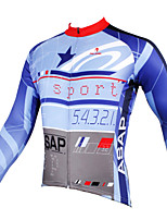 PaladinSport Men's Long Sleeve Cycling Jersey New Style CX532 ASAP 100% Polyester