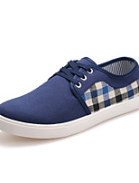 Men's Shoes Outdoor/Casual Denim Fashion Sneakers Black/Blue