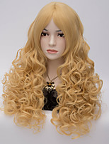 The European and American Wind Gold Points in Small Volume High Temperature Silk Wig