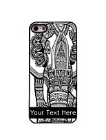 Personalized Gift The Elephant Design Aluminum Hard Case for iPhone 5/5S