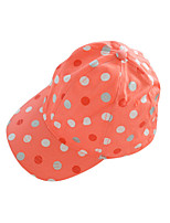 Kid's Summer/Winter/All Seasons Cotton Hats & Baseball Caps with Orange/Rose Red Colors