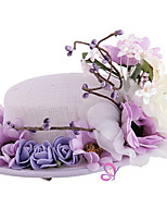 Hat With Flower Fascinators Headpiece for Party
