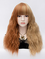 European and American Wind Double Color Bubble Surface Volume Curly Hair Wig