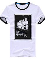 Men's Casual Short Sleeved T-Shirt Printing