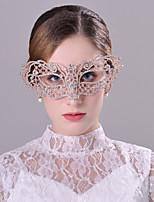 Bergkristal/Licht Metaal Vrouwen Helm Bruiloft/Speciale gelegenheden Maskers Bruiloft/Speciale gelegenheden 1 Stuk