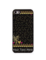 Personalized Gift Leopard Print Design Aluminum Hard Case for iPhone 4/4S