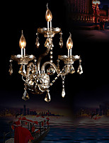 Crystal Wall Sconces , Traditional/Classic E12/E14 Crystal