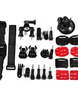 6 In 1 Accessories Suit  for gopro hero4/3+/3/2/1/sj4000/sj5000/sj6000