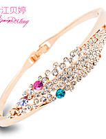 Women's Fashion Personality Alloy Crystal Bracelet Jewelry Gift Party Accessories