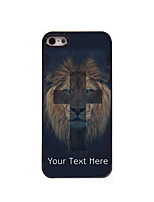 Personalized Gift The Lion and Cross Design Aluminum Hard Case for iPhone 5/5S