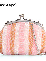 Women's Hand Party Full Beaded Purse Prom Evening Baguette Handbag Bridal Clutch