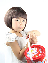 Japan And South Korea Explosion Models of High-Quality High-Temperature Silk Scroll Black Hair of Children